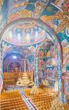The byzantine church Stock Photography