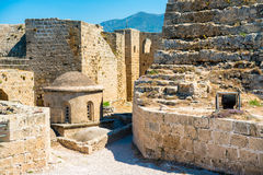 Byzantine church of St George inside Kyrenia castle. Cyprus Royalty Free Stock Photography