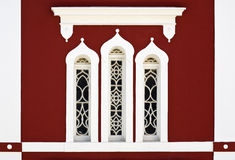Byzantine church window Royalty Free Stock Images