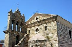 Byzantine church in Zakynthos Stock Photo