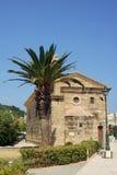 Byzantine church in Zakynthos Royalty Free Stock Image
