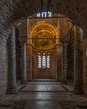 The byzantine churches of Istanbul. Turkey royalty free stock image