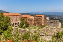 Byzantine city of Mystras, Peloponnes, Greece Stock Photography