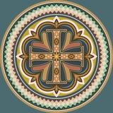 Byzantine cross. Byzantine style cross vector eps10 Stock Photo