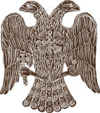 Byzantine double headed eagle Royalty Free Stock Photo