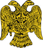 Byzantine double headed eagle Royalty Free Stock Photos