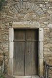 byzantine drzwi monaster Zdjęcie Stock