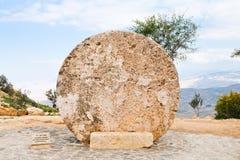 byzantine drzwiowy monasteru góry nebo kamień Obrazy Royalty Free
