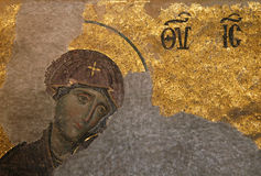 byzantine dziewicy Fotografia Royalty Free