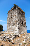 Byzantine era tower Royalty Free Stock Photos