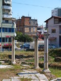 Byzantine forum, Durres, Albania Royalty Free Stock Images