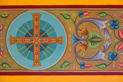 Byzantine frescoes Royalty Free Stock Images