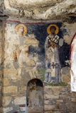 Byzantine frescoes of saints Royalty Free Stock Images