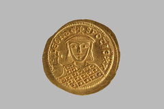 Byzantine Gold Coin 1 Royalty Free Stock Photo