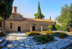 Byzantine monastery in Kaisariani, Athens Royalty Free Stock Photos