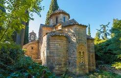 Byzantine monastery in Kaisariani, Athens Royalty Free Stock Photography