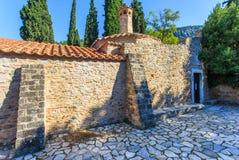 Byzantine monastery in Kaisariani, Athens Stock Photography