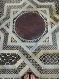 Byzantine mosaic floor Royalty Free Stock Image