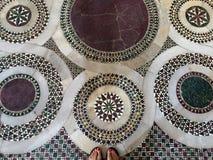 Byzantine mosaic floor Royalty Free Stock Photos
