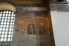 Byzantine mosaic Stock Images