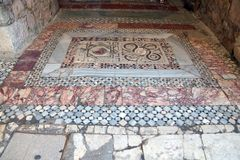 Byzantine mosaics Stock Photography