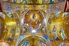 Byzantine mosaics in The Martorana