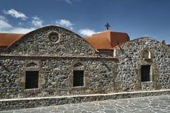 Byzantine Orthodox Church. On the island of Rhodes stock photo