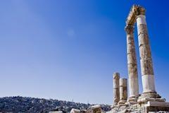 Byzantine Pillars Stock Image