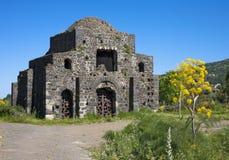 Byzantine ruin from Sicily Royalty Free Stock Photo