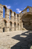 Byzantine ruins in Nessebar, Bulgaria Royalty Free Stock Image
