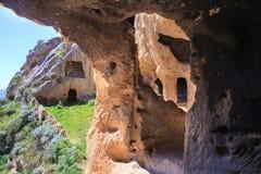 Byzantine village, Calascibetta Royalty Free Stock Photo