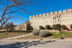 The Old City of Thessaloniki, Greece. Royalty Free Stock Image
