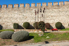 The Old City of Thessaloniki, Greece. Royalty Free Stock Photography