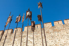 The Old City of Thessaloniki, Greece. Royalty Free Stock Photo