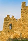 byzantinegreece gammala väggar Arkivfoton
