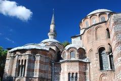Byzantinekyrka - den Chora kyrkan - Istanbul Royaltyfria Foton