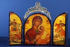 Byzantinische Ikone Stockfotos