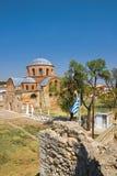 Byzantinische Kirche lizenzfreies stockbild