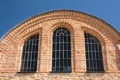 Byzantinische Kirche stockbild