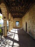 Byzantinische Ruinen in Ioannina stockbilder