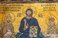 Byzantinisches Kaiserin-Zoe-Mosaik in Hagia Sophia lizenzfreies stockfoto