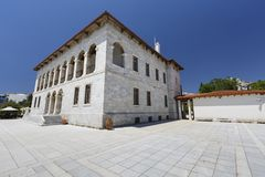 Byzantium en Christian Museum royalty-vrije stock foto's