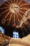 Byzantium Mosaic In Kariye Museum Royalty Free Stock Images