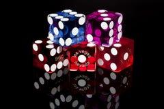bzdur kostka do gry gemowi las Vegas Zdjęcie Royalty Free