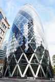 30 bâtiment ou cornichon de St Mary Axe à Londres Photographie stock