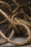 Cáñamo rope Fotografía de archivo libre de regalías