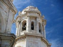 Cádiz - catedral en Cádiz. Fotos de archivo libres de regalías
