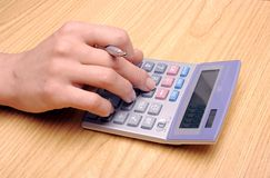 Cálculo Foto de Stock Royalty Free