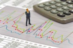 Cálculo da finança e do orçamento imagem de stock royalty free