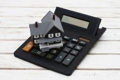 Cálculo de su pago de hipoteca Imagen de archivo